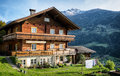 Bavaria typical old fashioned farmhouse in Stock Photos