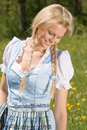 Bavarian beauty in the meadow Stock Photos