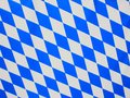 Bavarian blue and white rhombus Stock Photo