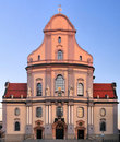 Bavarian church. Stock Photo