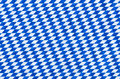 Bavarian diamond pattern a in blue and white Stock Photos