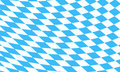 Bavarian flag background vector illustration Royalty Free Stock Photography