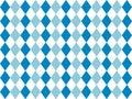Bavarian flag pattern background. Backdrop design for Oktoberfest.