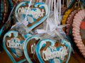 Bavarian Lebkuchen Hearts Royalty Free Stock Image