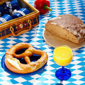 Bavarian outdoor picnic Royalty Free Stock Photography