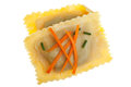 Bavarian pasta squares Royalty Free Stock Photo