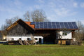 Bavarian photovoltaic Royalty Free Stock Photo