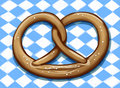 Bavarian Pretzel Stock Photos
