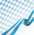 Bavarian ribbon flag