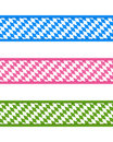 Bavarian ribbons Stock Photo