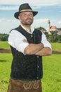 Bavarian traditional man Royalty Free Stock Photos