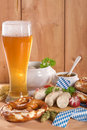 Bavarian veal sausage breakfast