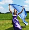 Bavarian Woman Stock Photo
