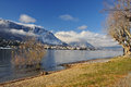Baveno, Lago Maggiore in Winter Royalty Free Stock Images