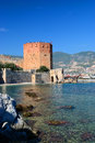 Bay of alanya turkey high view Royalty Free Stock Photography