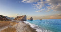 Bay Of Aphrodite. Paphos, Cyprus