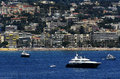 Bay of Cannes in France Royalty Free Stock Photo