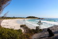 Bay of Fires beautiful day Royalty Free Stock Photo
