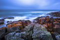 The Bay of Fires Royalty Free Stock Photo