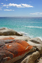 Bay of fires tasmania australia one the most beautiful beaches the world Stock Images