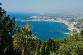 Bay of Giardini Naxos, Sicily, Italy Royalty Free Stock Photo