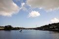 Bay landscape in Kinsale Royalty Free Stock Photo