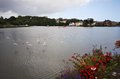 Bay landscape in Kinsale Royalty Free Stock Photo
