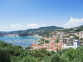 Bay of Lerici. Lerici. La Spezia. Liguria. Italy. Royalty Free Stock Photography