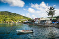 Bay on Martinique Royalty Free Stock Photo