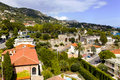 Bay on saint jean cap ferrat near nice of cote d azur Stock Photo