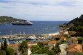 Bay on saint jean cap ferrat of near nice cote d azur Royalty Free Stock Images