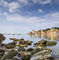 Bay of silence, Sestri Levante Royalty Free Stock Photography
