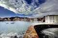Bay of silence, Sestri Levante Royalty Free Stock Image