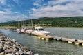Bay St-Paul Marina Royalty Free Stock Photo