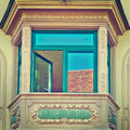 Bay Window Royalty Free Stock Photo