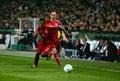 Bayern Munchen's David Alaba and Franck Ribery Royalty Free Stock Images