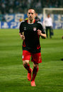 Bayern Munchen's Franck Ribery Stock Photos
