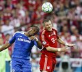 Bayern Munich vs. Chelsea FC UEFA CL Final Royalty Free Stock Photos