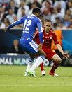 Bayern Munich vs. Chelsea FC UEFA CL Final Royalty Free Stock Image