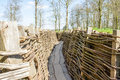 Bayernwald trenches world war one flanders belgium the Royalty Free Stock Photo