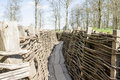 Bayernwald trenches world war one flanders belgium the Stock Photos