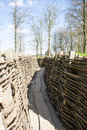 The bayernwald trenches world war one flanders belgium Royalty Free Stock Photo