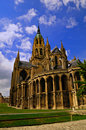 Bayeux Cathedral Royalty Free Stock Photography