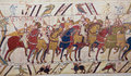 Bayeux tapestry Royalty Free Stock Photo