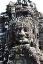The Bayon,Angkor,Cambodia Royalty Free Stock Photography