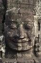 Bayon angkor wat siem reap cambodia temples face of temple Royalty Free Stock Image