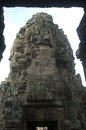 Bayon angkor wat siem reap cambodia temples faces of temple Stock Image