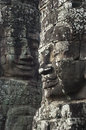 Bayon angkor wat siem reap cambodia temples faces of temple Royalty Free Stock Images