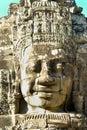 Bayon Face, Cambodia Stock Photo