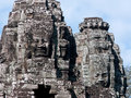 The Bayon temple at Angkor Thom, Cambodia Stock Image
